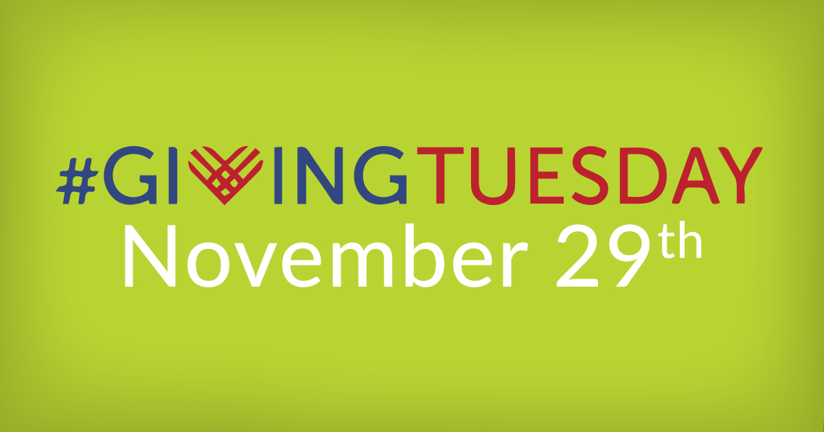 Giving Tuesday is Nov 29
