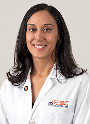 headshot of Monica Lawrence, M.D.